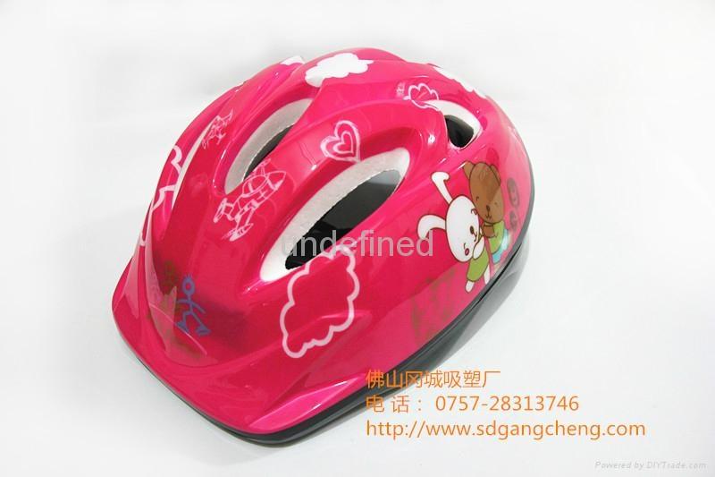 Gangcheng 6air vents Children PVC bicycle helmet dirt Bike Helmet 1