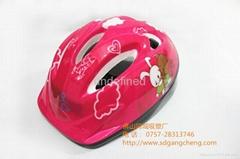 廣東岡城儿童輪滑溜旱冰護具頭盔