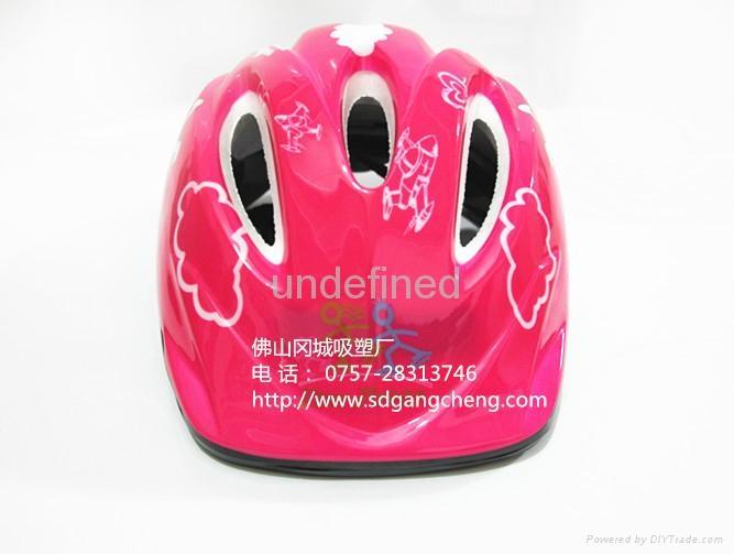 Gangcheng 6air vents Children PVC bicycle helmet dirt Bike Helmet 2