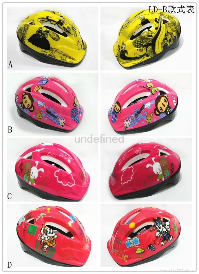 Gangcheng 6air vents Children PVC bicycle helmet dirt Bike Helmet 3