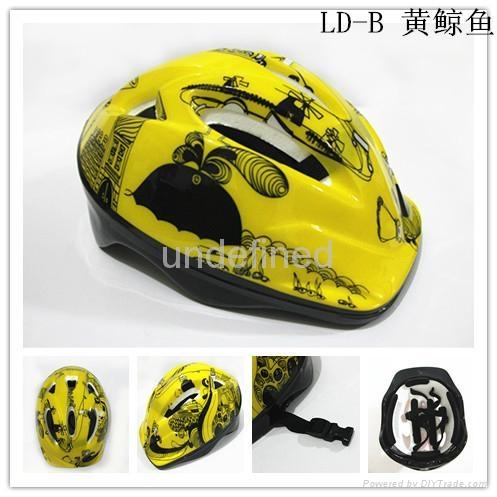 Gangcheng 6air vents Children PVC bicycle helmet dirt Bike Helmet 4