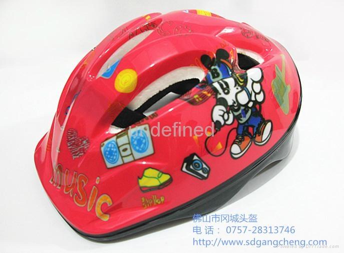 Gangcheng 6air vents Children PVC bicycle helmet dirt Bike Helmet 5