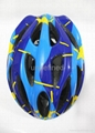 cheap bike helmet, beautiful bike/