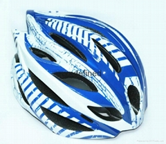 Inmold bicycle helmet