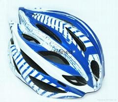 Inmold bicycle helmet