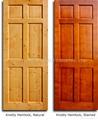 Stained Panel Door