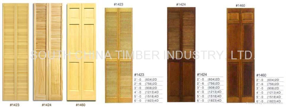 Image Result For Oak Louvered Bifold Closet Doors
