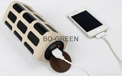 Bluetooth Speaker With Power Bank