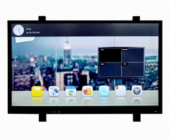 High quality 65''smart led TV touch screen panel all in one pc