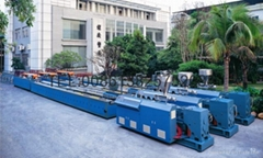 WPC decking extrusion machine
