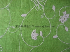 100% Linter fabric Embroidery
