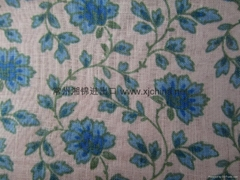 Print 100% Linen fabric