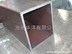 Të madhe me mure të trasha diametër drejtkëndëshe tub