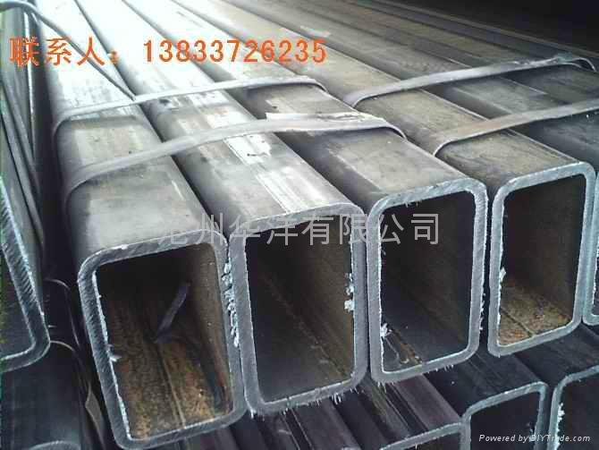 Of Hebei Q345Bmn manganese side rectangular tubes manufacturers 2