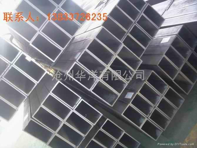 Of Hebei Q345Bmn manganese side rectangular tubes manufacturers 3