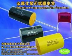 金屬化聚丙烯膜電容器