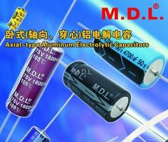 AXIAL TYPE Aluminum Electrolytic Capacitors