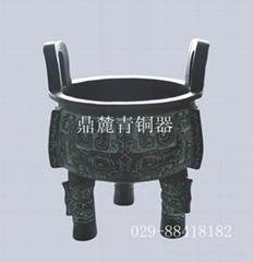 仿古青銅器大世紀龍鼎