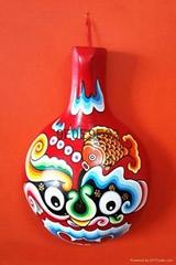 民間工藝品馬勺臉譜家居裝飾挂件