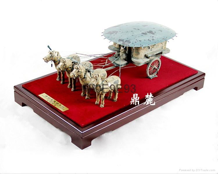 西安礼品铜车马摆件 2