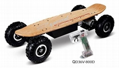 Wirless Remoted E-skate Board
