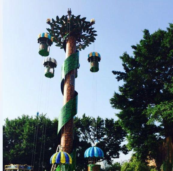 Parachute  tower 3
