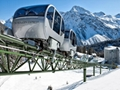 Monorail train in the mountain 2