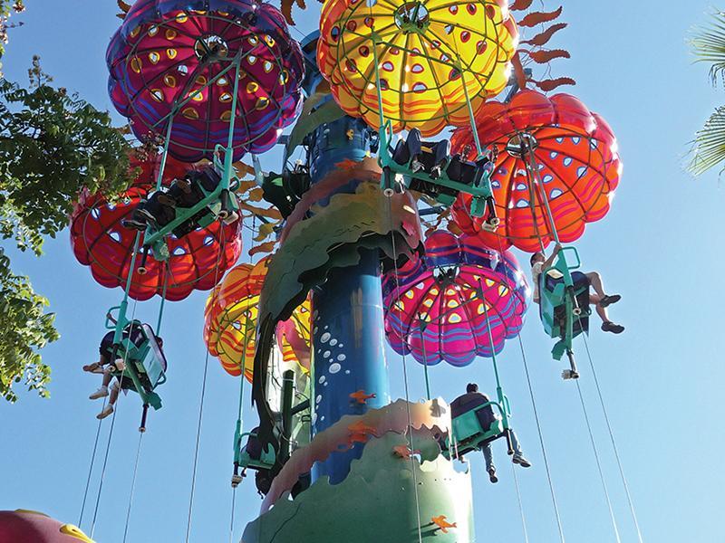 Parachute  tower 2