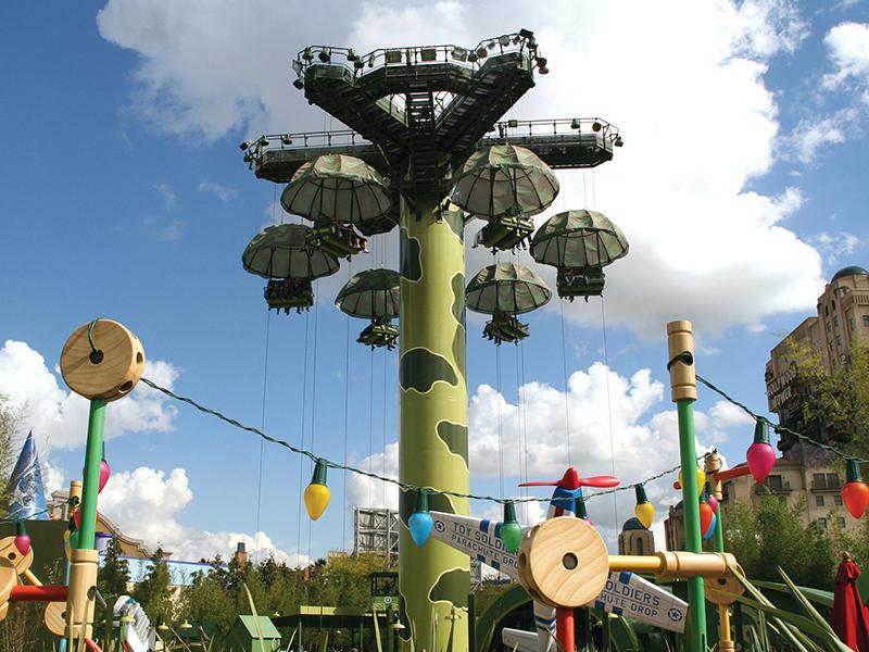 Parachute  tower 1