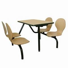 曲木快餐桌椅