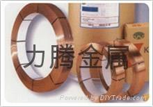 高导电性C5191高精磷铜线高强度