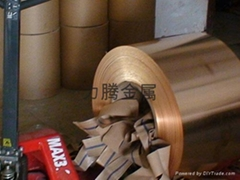 高硬度C5191高精磷铜带