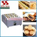 红豆饼机(12格)电热式