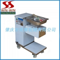 meat slicer with pulley