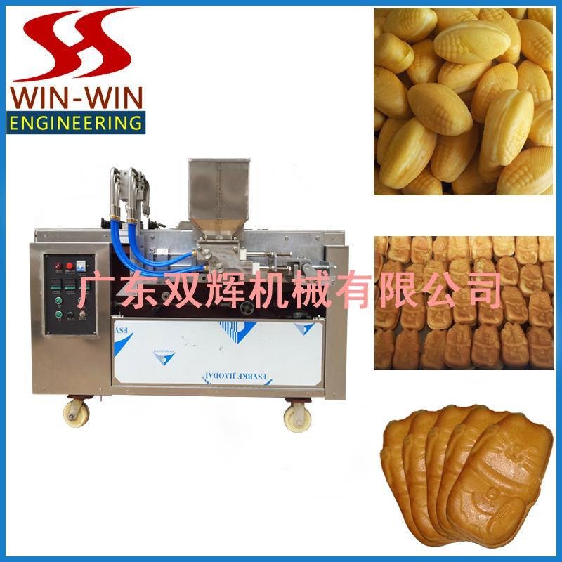 DJ-100  Automatic filling layer cake machine(video) 1
