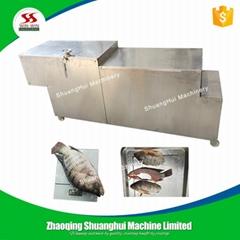 QC-3800Fish slicer slice fish into 3 pieces fish cutting machine