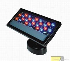 单色七彩24W LED投光灯