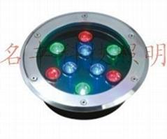 9W大功率LED地埋灯