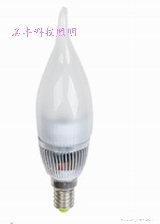 高效節能3W大功率LED球泡燈 1