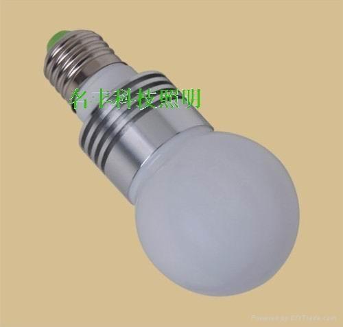 高效節能3W大功率LED球泡燈 4