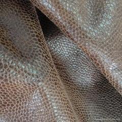 Bronzing Suede  Sofa Fabric