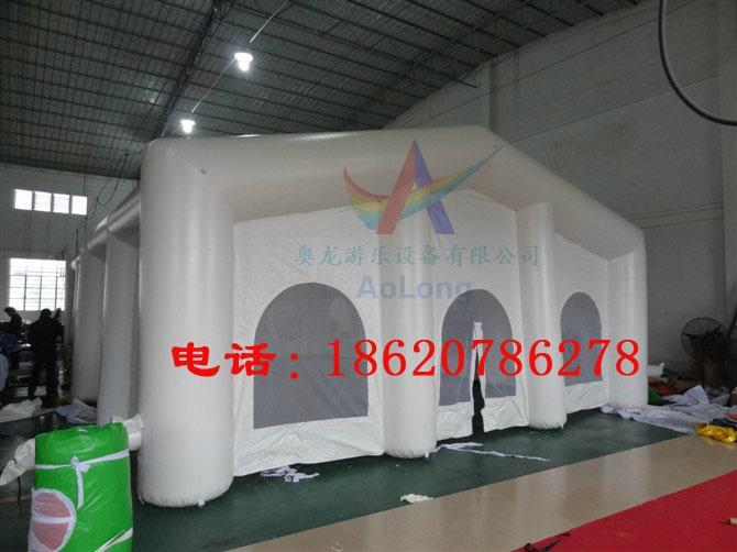 充气拱形帐篷,充气支架帐篷,充气房子帐篷,充气红白喜事帐篷 3