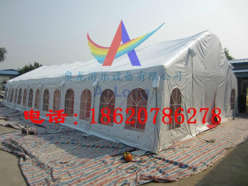充气拱形帐篷,充气支架帐篷,充气房子帐篷,充气红白喜事帐篷 5