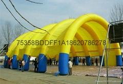 充氣廣告帳篷,充氣展覽帳篷