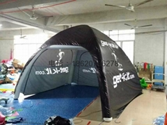 Pneumatic motor show tent, mobile tents, camping tent for a picnic
