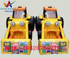 Inflatable forklift slides, inflatable slide, inflatable model