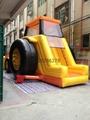 充气铲车滑梯,充气滑梯,充气模型