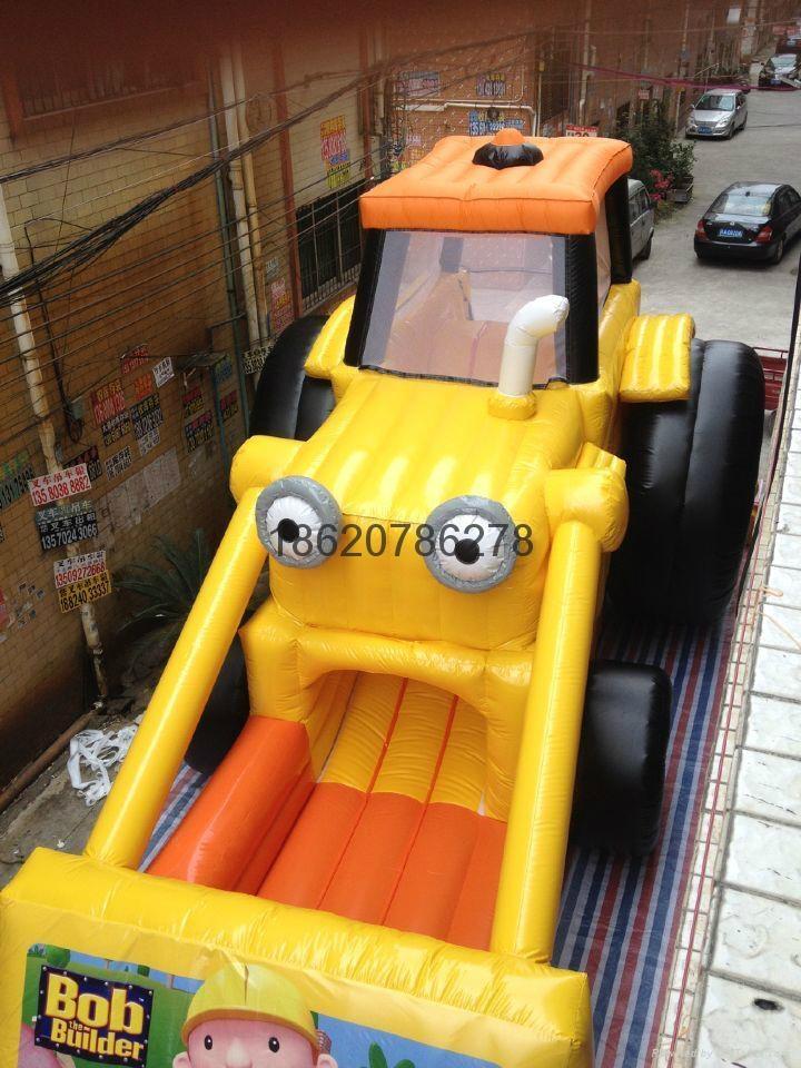 Inflatable forklift slides, inflatable slide, inflatable model  3