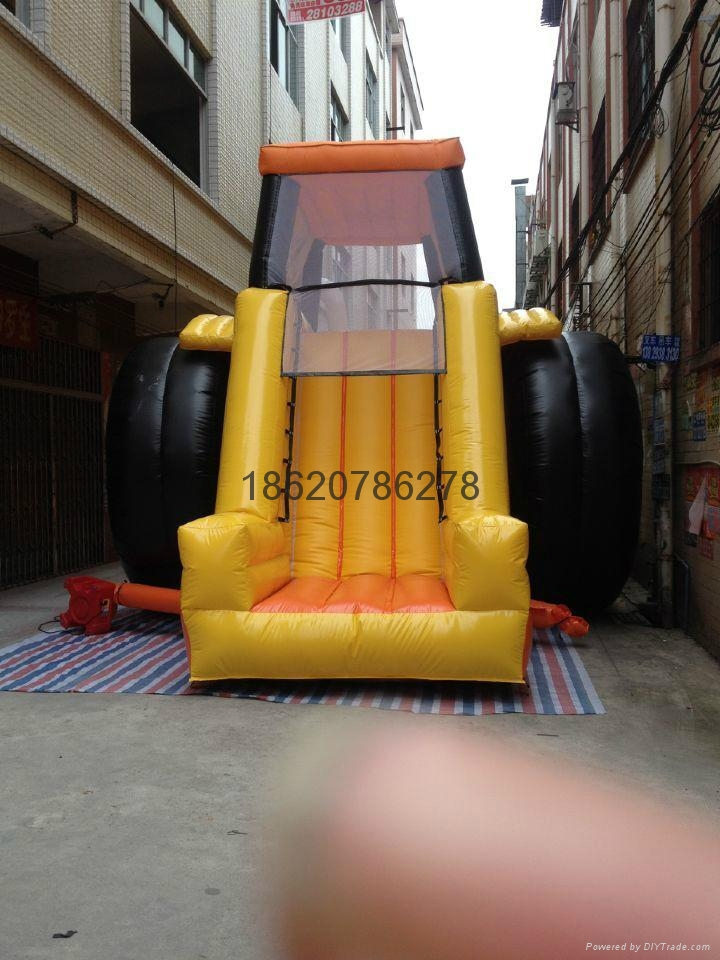 Inflatable forklift slides, inflatable slide, inflatable model  4