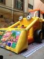 Inflatable forklift slides, inflatable slide, inflatable model  6